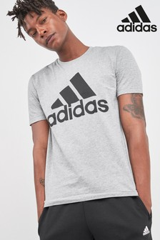 adidas Grey Badge Of Sport Tee