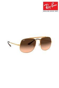 Ray-Ban® Light Bronze The General Sunglasses