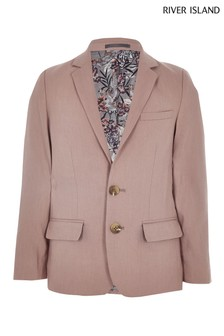 River Island Pink Suit Jacket
