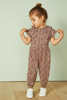 13b208b18df Animal Print Playsuit (3mths-7yrs)