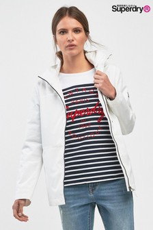 Superdry White Windcheater Jacket