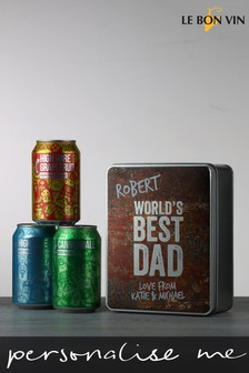 Personalised Best Dad Pale Ale Craft Beer by Le Bon Vin