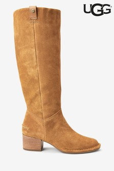 UGG® Arana Chestnut Heeled Tall Boots