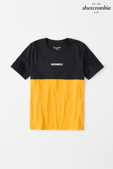 Abercrombie & Fitch Navy/Gold T-Shirt