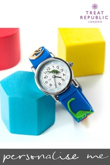 Personalised Dinosaur Kids Watch by Treat Republic