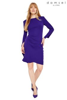 Damsel In A Dress Purple Carrera Dress