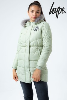 Hype. Longline Parka Coat