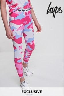 Hype. Pink Camo Legging