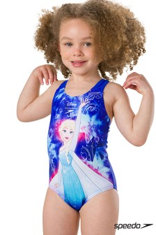 Speedo® Frozen Printed Swimsuit