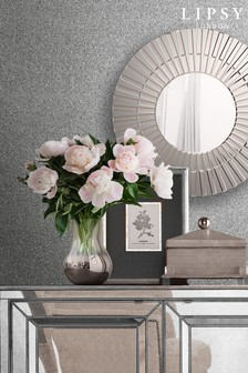 Lipsy Luxe Texture Silver Wallpaper