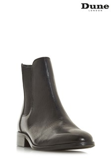 Dune London Black Clean Chelsea Boot