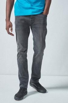 Džínsy obnoseného vintage vzhľadu