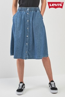 Levi's® Light Weight Midi Skirt