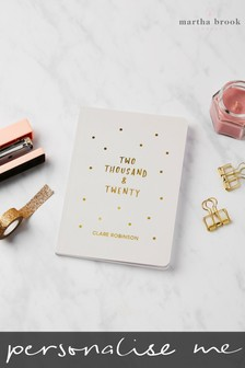 Personalised Gold Sprinkle 2019 Diary by Martha Brook