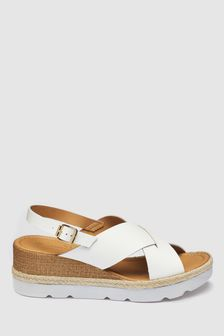e4b688e7fa Wedges | Espadrille & Leather Wedges | Next UK