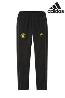 adidas Black Manchester United FC Training Joggers