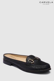 Carvela Comfort Black Leather Clayton Loafer