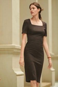 Ponte Bodycon Dress