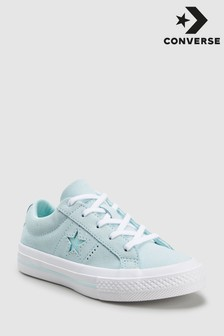 Converse Teal Youth One Star Trainer