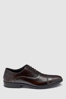 Hi Shine Toe Cap Oxford