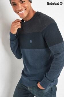 Timberland® Navy Colourblock Sweater