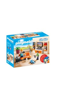 Playmobil® 9267 City Life Living Room With Working Lights