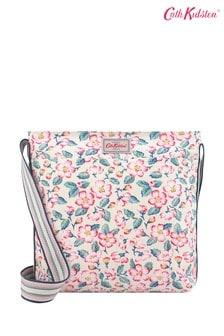 Cath Kidston® Climbing Blossom Zipped Messenger Bag