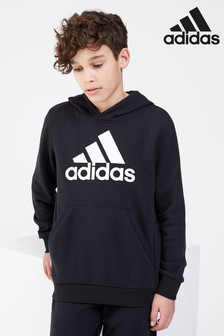 adidas Badge Of Sport Black Overhead Hoody