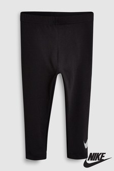Nike Little Kids Black Metallic Legging