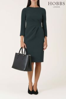Hobbs Green Alexa Dress
