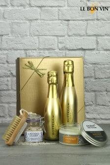 Bottega Gold Prosecco Mini Pamper Gift Set by Le Bon Vin