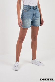 4128c08b3fa Buy Women's shorts Denim Denim Shorts Diesel Diesel from the Next UK ...