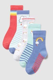 Socks Five Pack (Older)