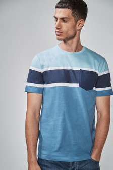 Block Chest Stripe T-Shirt