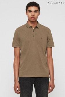 AllSaints Khaki Reform Poloshirt