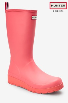 Hunter Womens Pink Original Play Boot Tall Wellies