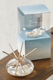 Sea Salt and Waterlily 180ml Diffuser