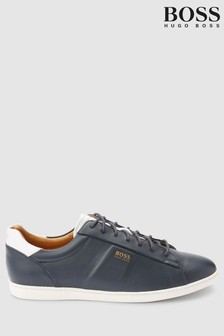 BOSS Rumba Leather Trainer