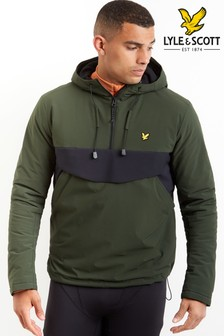 Lyle & Scott Sport Green Anorak Jacket