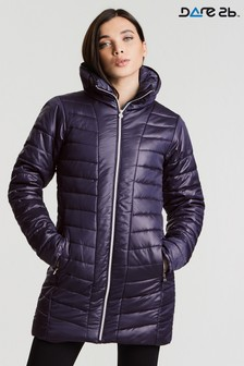Dare 2b Longline Showerproof Padded Jacket