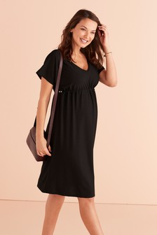 Maternity Waisted Dress