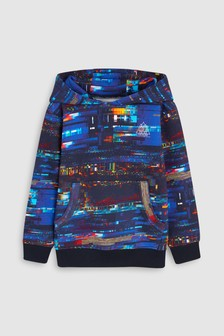 Glitch Print Hoody (3-16yrs)