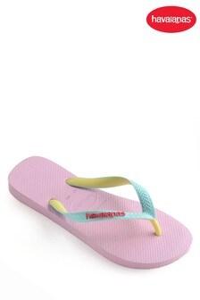 Havaianas® Kid's Pink Top Mix Flip Flop