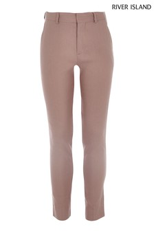 River Island Pink Suit Trouser