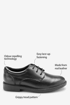 Lace-Up Smart Leather Shoes (Older)