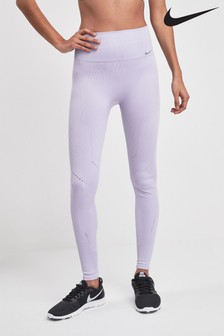 Nike Studio Dri Fit Lilac Power Seamless Tight