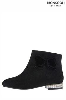 Monsoon Kelsey Diamante Heel Boot