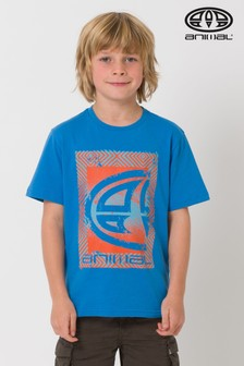 Animal Blue Tabo Graphic Tee