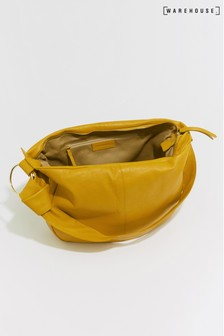 Sac en cuir Warehouse jaune