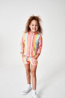 Куртка в разноцветную полоску Billie Blush